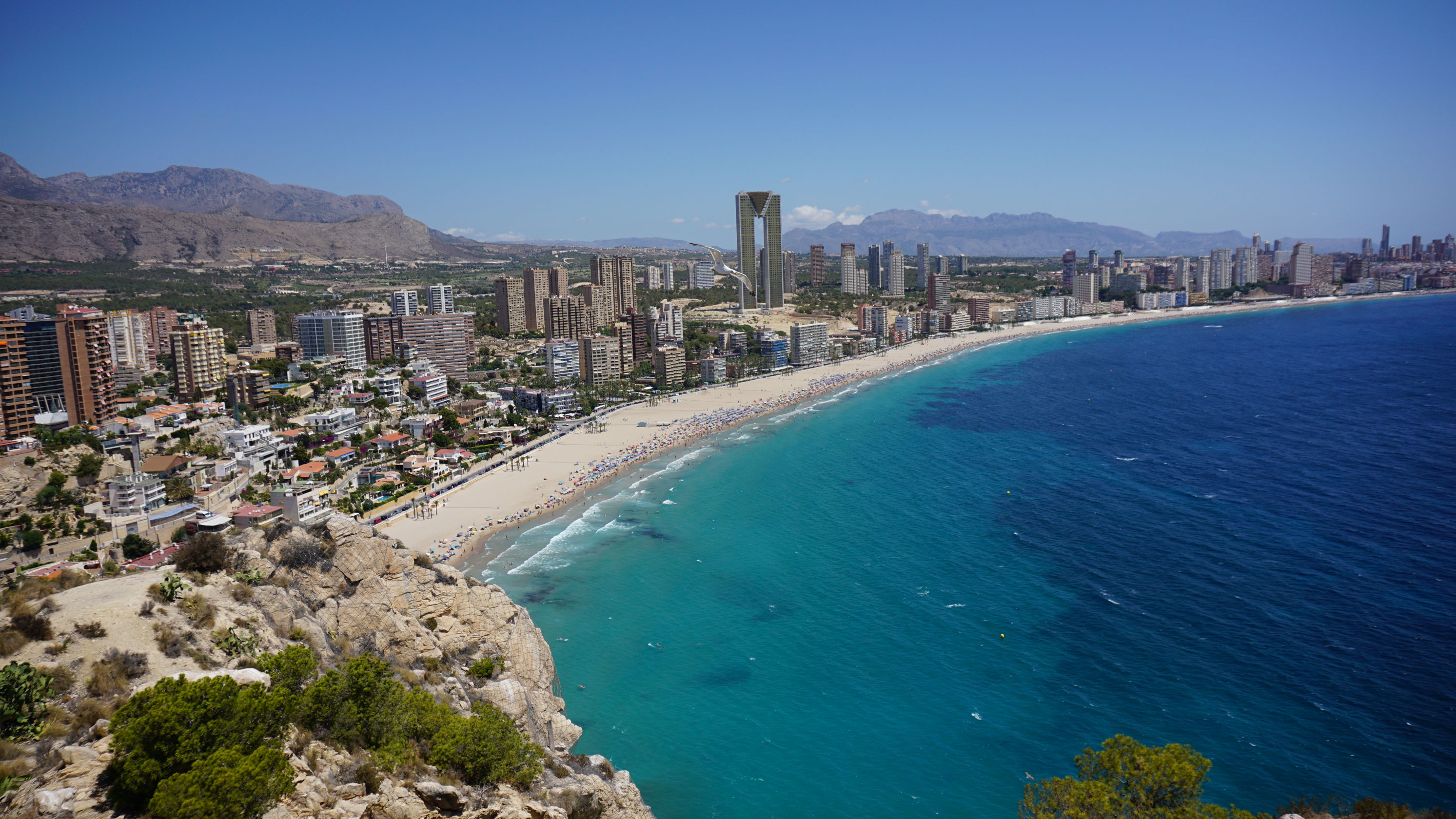 day trip to benidorm