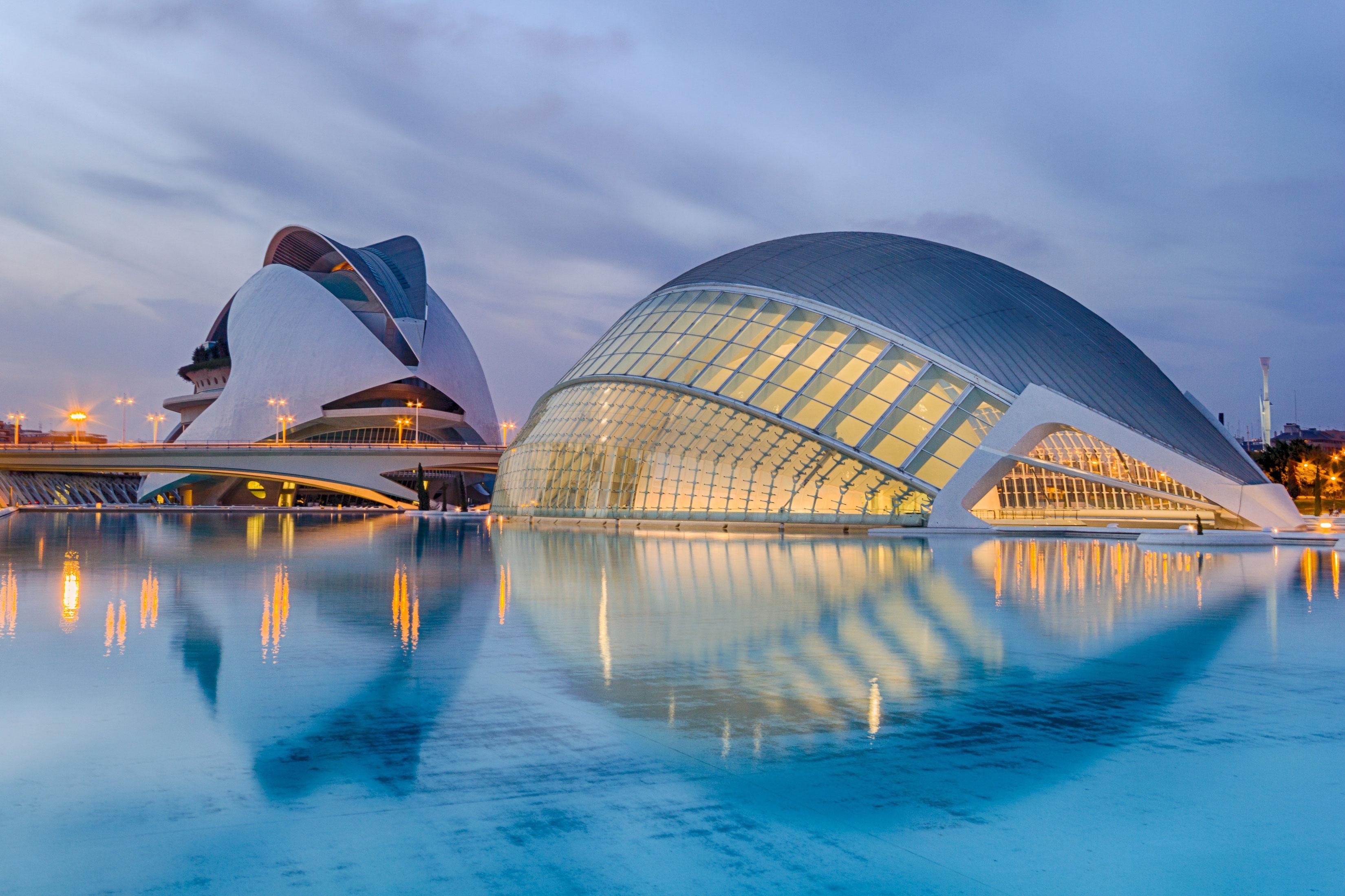 valencia city of arts and science
