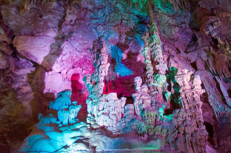 canelobre caves alicante near torrevieja