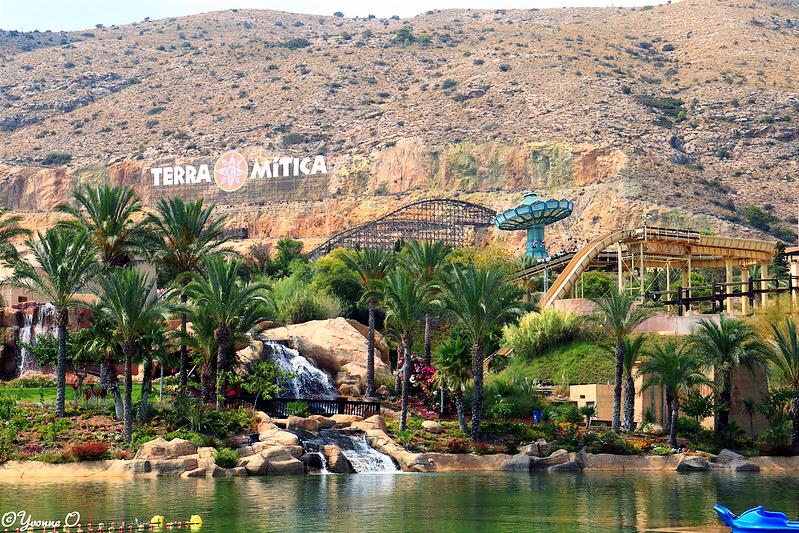 terra mitica benidorm amusement park near torrevieja